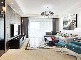 180㎡现代两居室实景图   元素添加设计