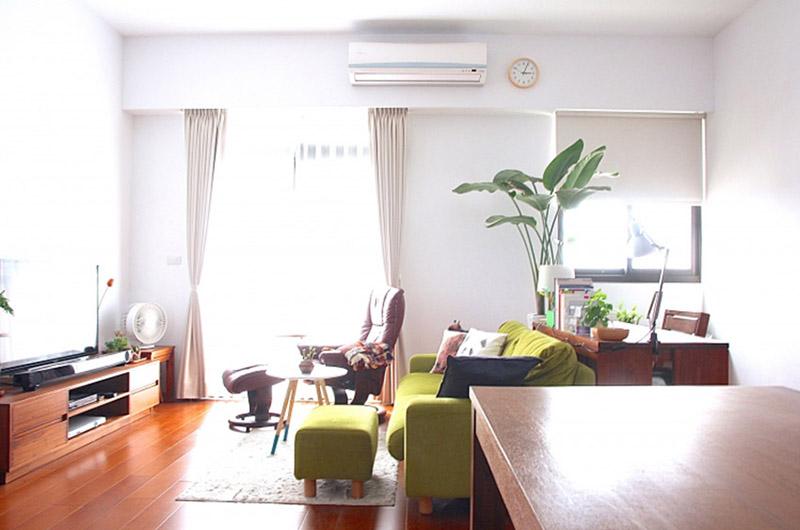 实木日式三居家装设计