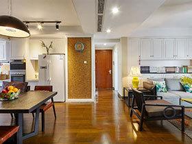 中西混搭风 古典公寓散发出知性美