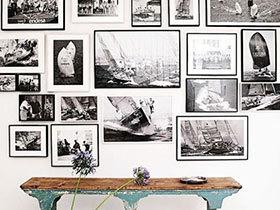 挂满人生旅程  12个客厅照片墙装修图片