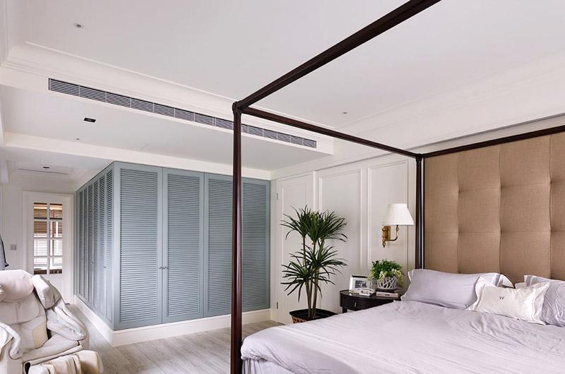 340平美式别墅主卧室装修