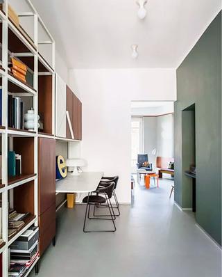 90平公寓书房效果图装修