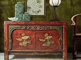 传统之美  10个中式装饰柜装效果图