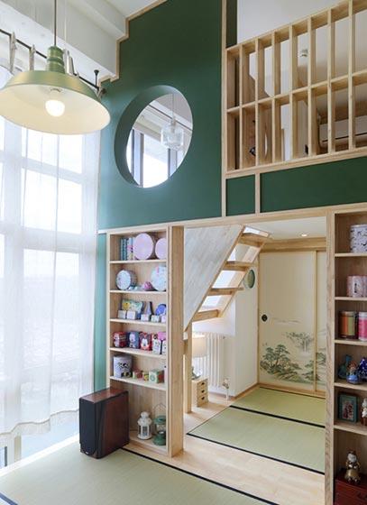 日式小户型客厅布置图