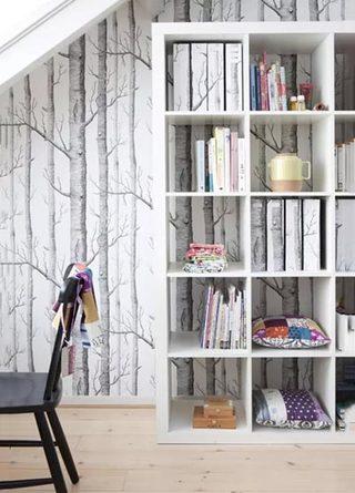 客厅墙面壁纸设计布置图
