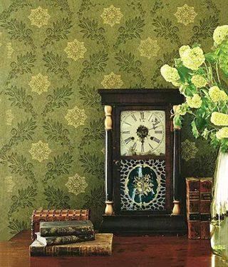 墙面壁纸装修装饰图