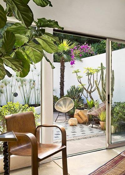 欧式小花园设计布置图_齐家网装修效果图图片