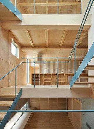 室内楼梯布置装修图