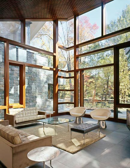 门窗 落地窗 皮氏铝木落地窗 抗风压门窗
