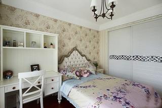 美式风格三房两厅装修儿童房壁纸效果图