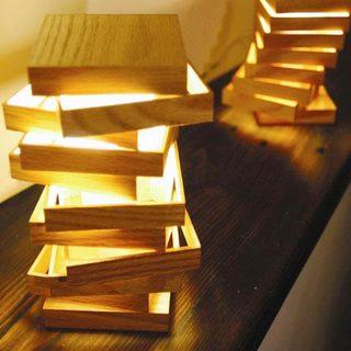 木质灯具装修装饰效果图