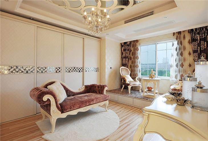 欧式风格别墅欧式卧室图