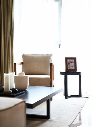 简约风格小三房装修休闲沙发图片