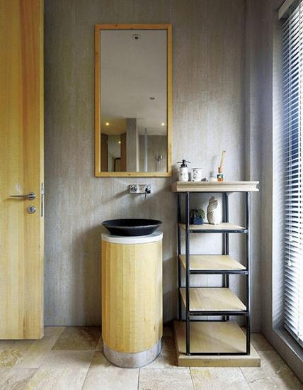 美式风格复式公寓装修卫生间装修