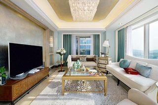 150㎡新古典两居室装修装饰效果图