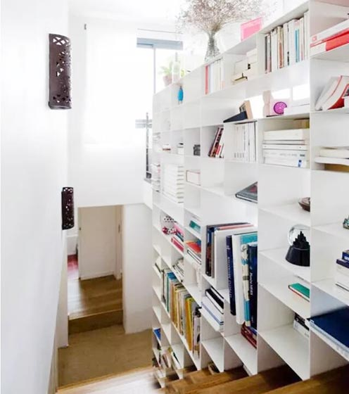 楼梯空间收纳设计参考图
