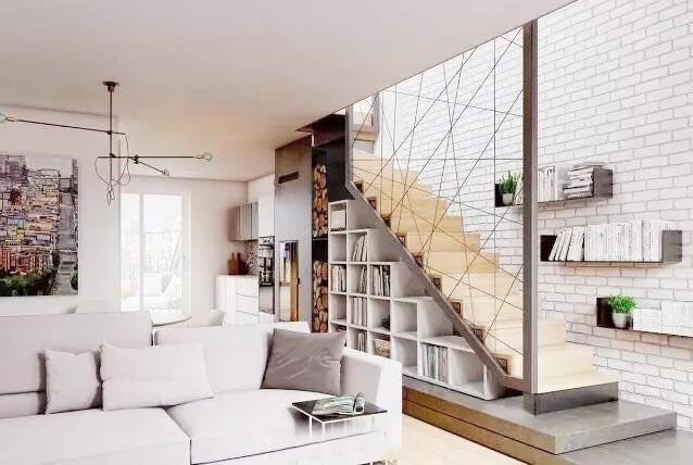 楼梯空间收纳布置装修图
