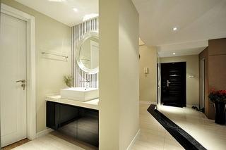 简约风格三居室效果图洗手台装修