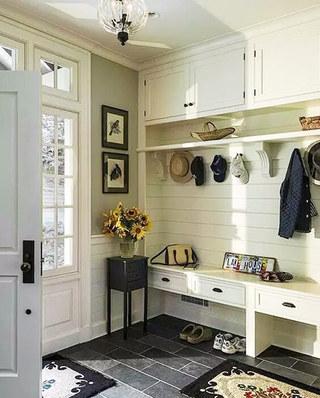 玄关柜收纳设计效果图