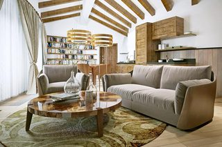 木质客厅设计布置图