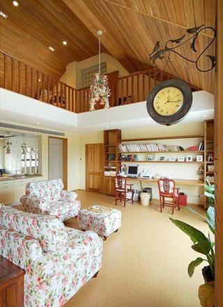 木质客厅设计平面图