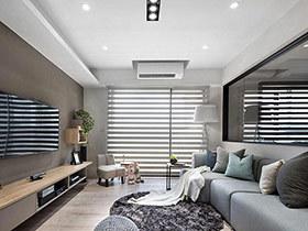132平现代简约风格装修 暖风蔓延入室