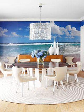 创意壁纸背景墙设计参考图