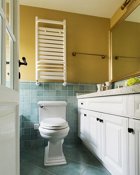 100平美式三居室主卫生间装修