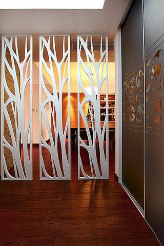 美式风格装修三居室隔断设计