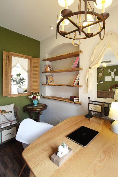 田园风格装修 让家让世外桃源一样美妙田园风餐厅