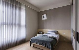 简约风格二居装修卧室背景墙装修