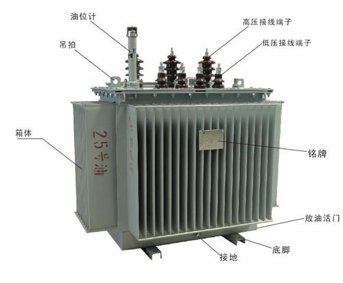 油浸式变压器价格 油浸式变压器型号及性能特点图片