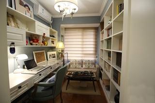 美式风格四房两厅装修书房装修效果图