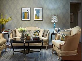 满眼的舒适感 古典美式风格公寓装修图