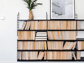 10个实用书架设计效果图 在家开个图书馆