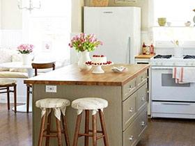 11个厨房吧台效果图 让你从此爱上厨房