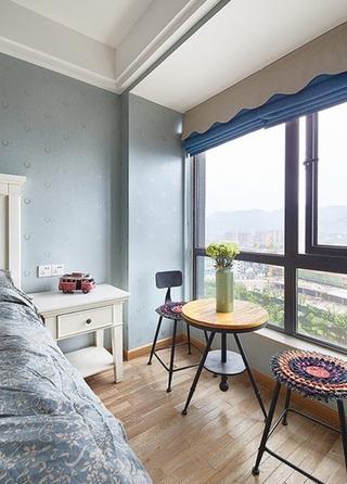 美式三居室装修 品味岁月的味道美式卧室效果图