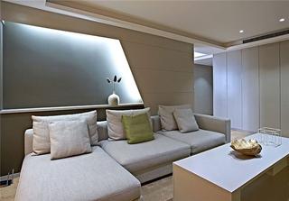 极简与时尚完美结合 年轻人最爱的简约风格装修客厅效果图