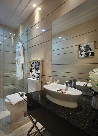 欧式风格装修 低调的奢华卫生间设计
