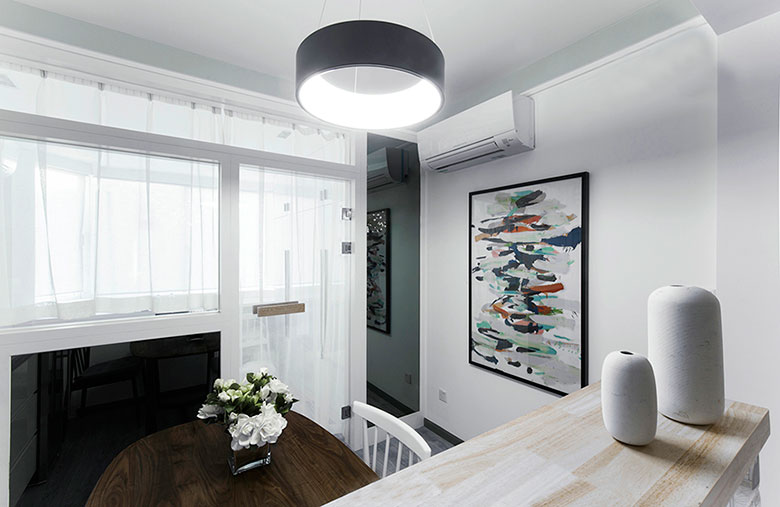 简约后现代家居装饰画设计