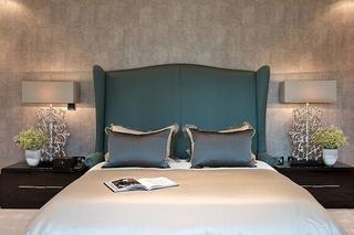新古典风格别墅装修卧室壁纸图片