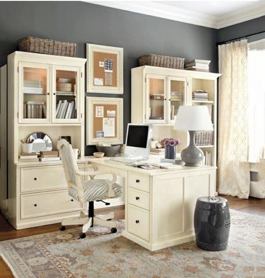 收纳小书房装修效果图