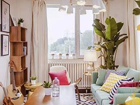 宛如进入花园中  这套公寓姹紫嫣红好美丽