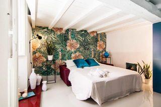 90平米LOFT公寓卧室效果图