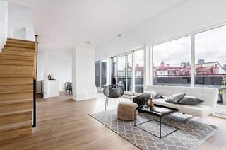阁楼公寓客厅装修效果图