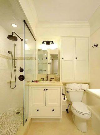 卫生间收纳布置欣赏图