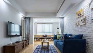 北欧风格三室两厅装修效果图