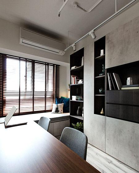 北欧风格公寓书房装修设计图_齐家网装修效果图图片