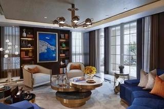 300平米别墅装修小客厅效果图