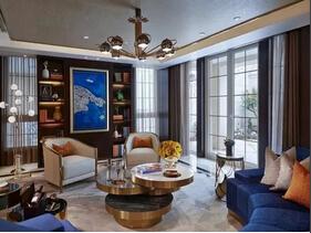 简约美式风格装修 300平别墅装修设计